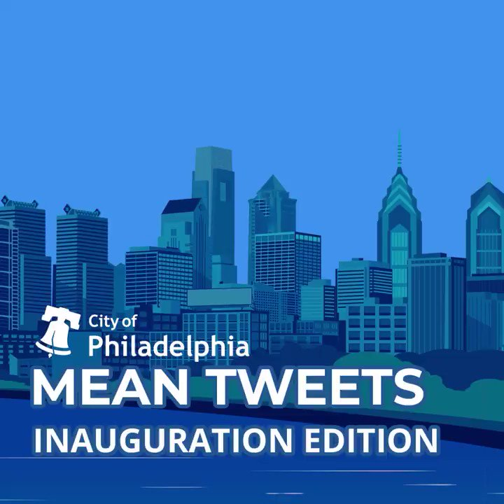 Here's to four more years of reading your (mean) tweets. #PHL2020