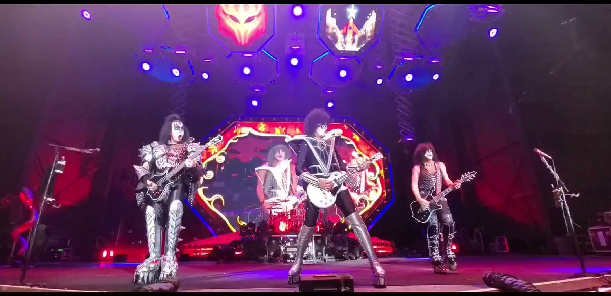 #tbt #KISS Psycho Circus #EndOfTheRoad World Tour 2019