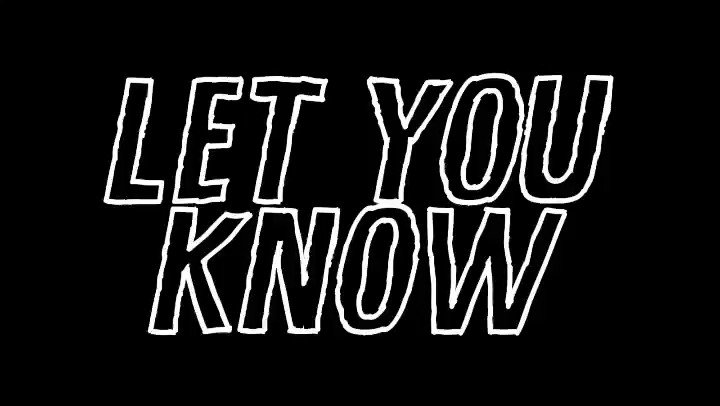 First single of the new year. Tonight #LetYouKnow 🖤🙌🔥