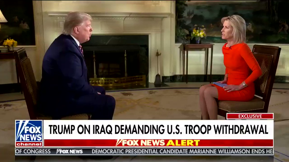 """He sells troops.  """"We have a very good relationship with Saudi Arabia—I said, listen, you're a very rich country. You want more troops? I'm going to send them to you, but you've got to pay us. They're paying us. They've already deposited $1B in the bank."""""""
