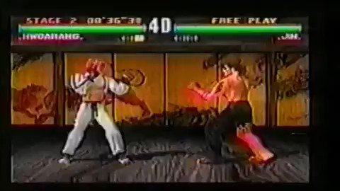 Hwang Su-Il - Tekken 3's Hwoarang mocap actor. Awesome to see the real deal alongside motion cleaned up for gameplay.