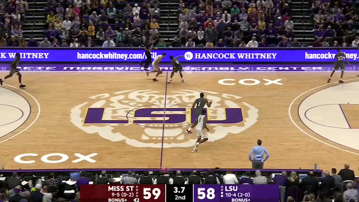 LSU WINS AT THE BUZZER!!!
