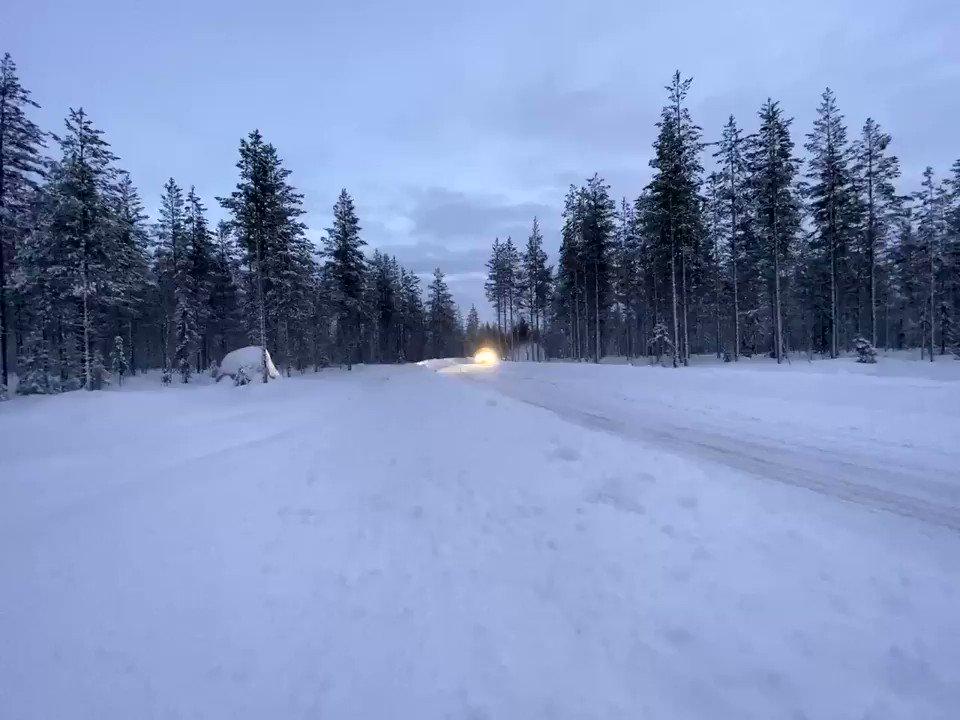 Sunday Funday ☃️  #VB77 @RautiainenTimo @pirellisport @AbloyOy @WestproCCOy @AKKMotorsport @PH__Sport #arcticrally #lapland