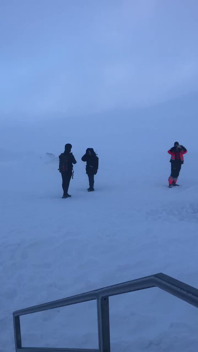 Iceland. Great country, beautiful scenery, extreme weather! #iceland #langjokull #snow