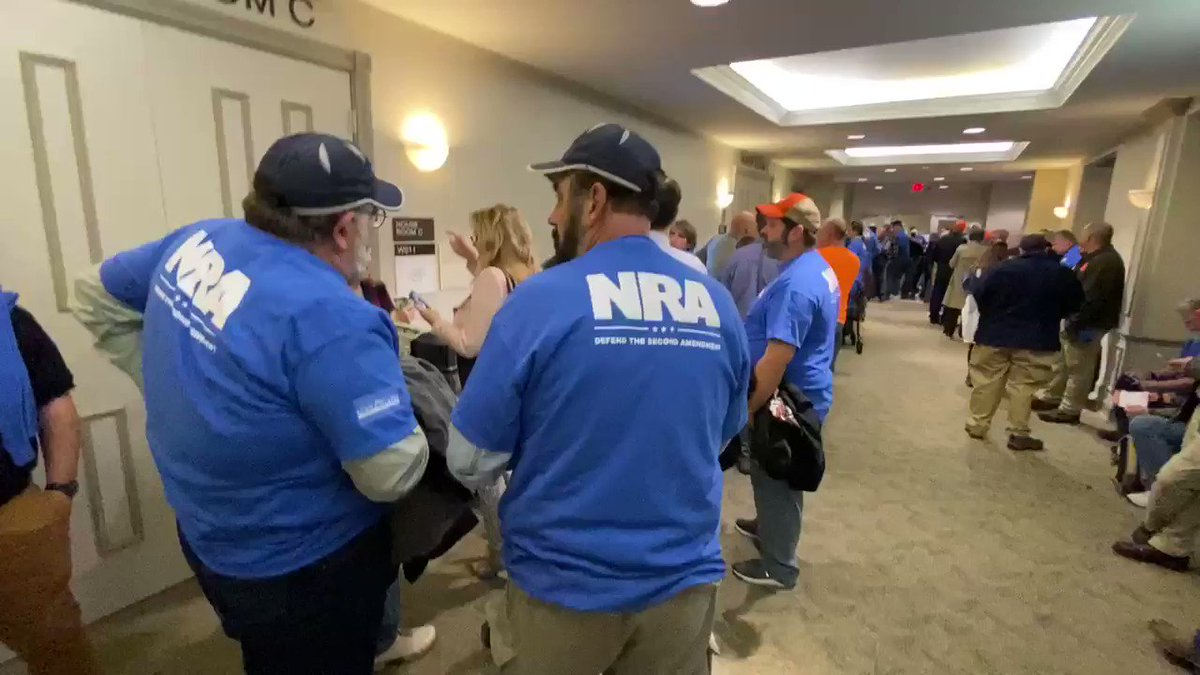 .@NRA members getting ready to Stand and Fight in Virginia! #valeg