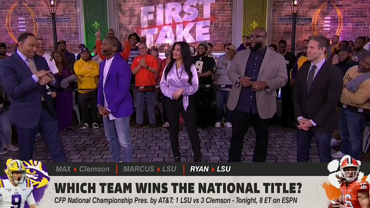 Stephen A. Smith Makes His Pick For LSU-Clemson
