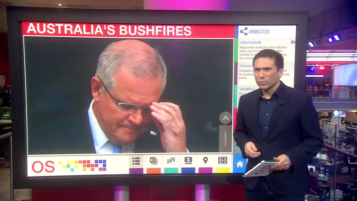 *New #bushfires video* PM Scott Morrison told @abcnews even if #Australia shut all its coal power stations, the impact on climate change would be minimal because of China. But... Australia emits far more per person than China. And what about emissions from exports?