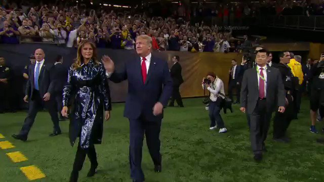 @realDailyWire's photo on Superdome