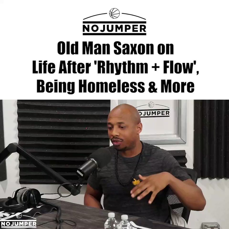 Old Man Saxon full interview is up!! 🔥🔥🔥 @OldManSaxon #RhythmandFlow #Netflix | youtu.be/FfxZ3zgXbak