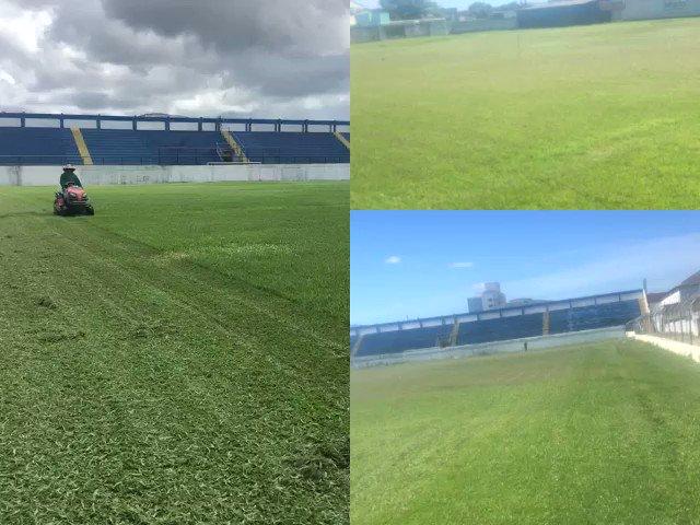 São Mateus recupera gramado do Sernamby de olho no Capixaba 2020. Saiba mais https://glo.bo/2t5ZBF1 #futebolcapixaba #SaoMateus pic.twitter.com/HgPWUzuXez