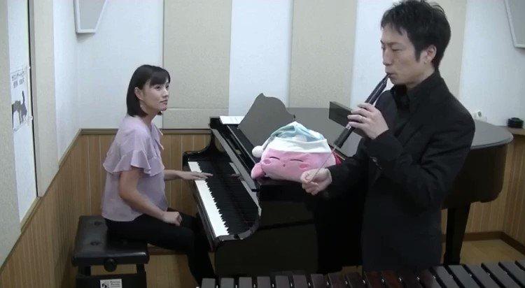 いつもYouTubeで色んな演奏されててUPされるの楽しみにしてたんだけど…これは予想以上😂最高wwww@yuto_shimazaki @yuki_smzk プロの打楽器奏者がカービィの名曲「グリーングリーンズ」をスライドホイッスルで演奏してみた【一発撮り】  @YouTubeより
