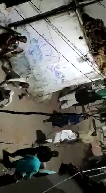 Largscale violence in #Bhainsa, dist Nirmal of #Telangana. #Peacefuls attacked Hindus, looted & burnt property, pelted stones at police. More than 20 Hindu houses completely destroyed. 8 police personnel injured. The internet banned. Sec 144 imposed. #BhainsaBurning @KTRTRS