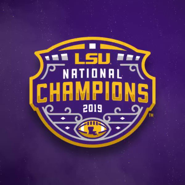 The LSU Tigers are National Champions! #GeauxTigers