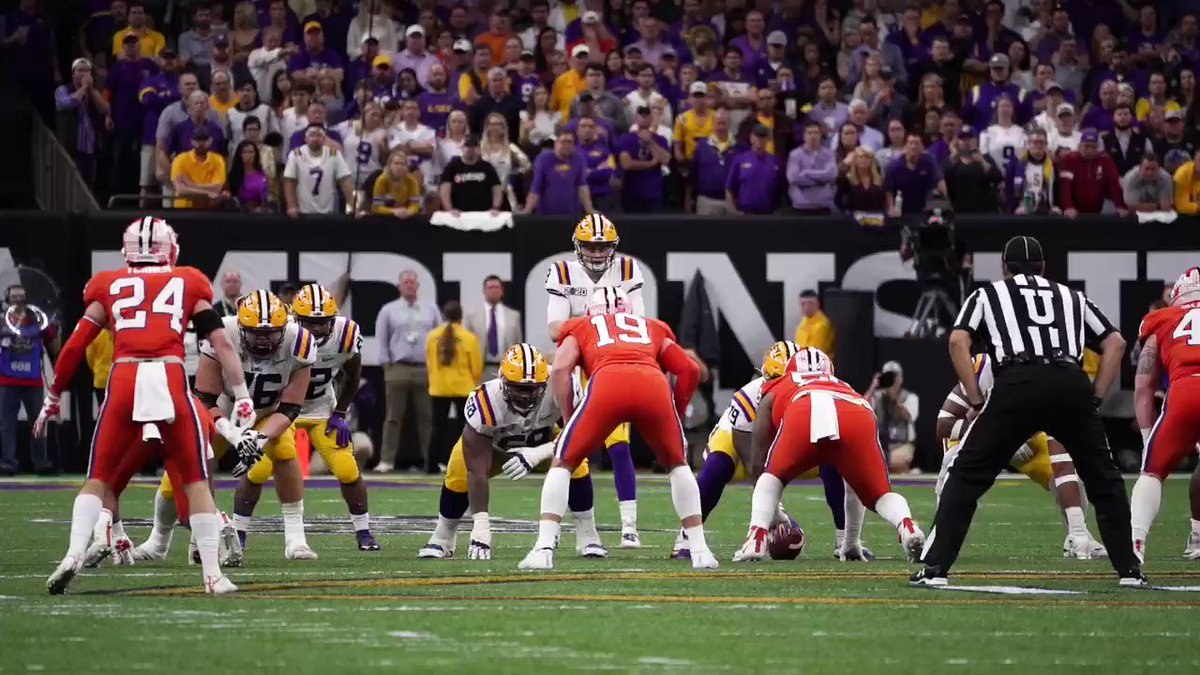 Ja'Marr Chase appreciation tweet! #CFBPlayoff x #NationalChampionship #GeauxTigers