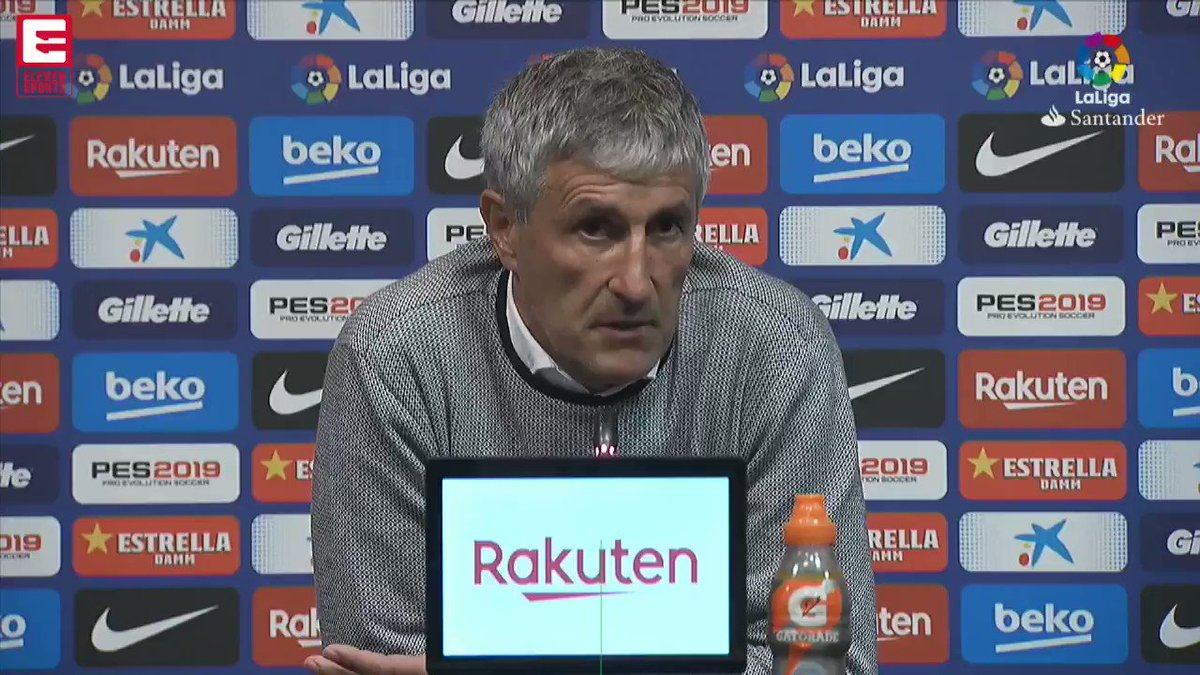 "🤩 | ""I've always admired Barcelona."" Quique Setien has signed a contract with #FCB until 2022."