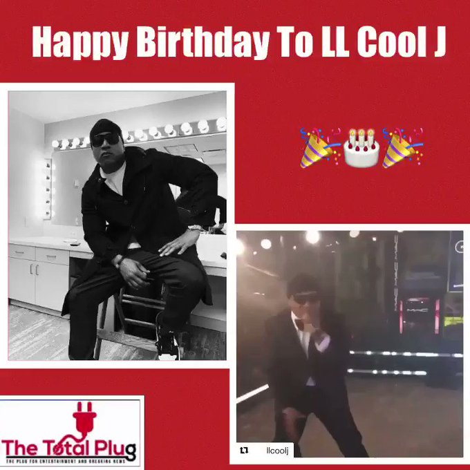 Happy Birthday To LL Cool J