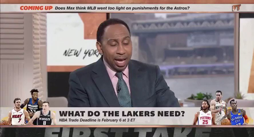 Stephen A. Smith Suggests A Ridiculous NBA Trade