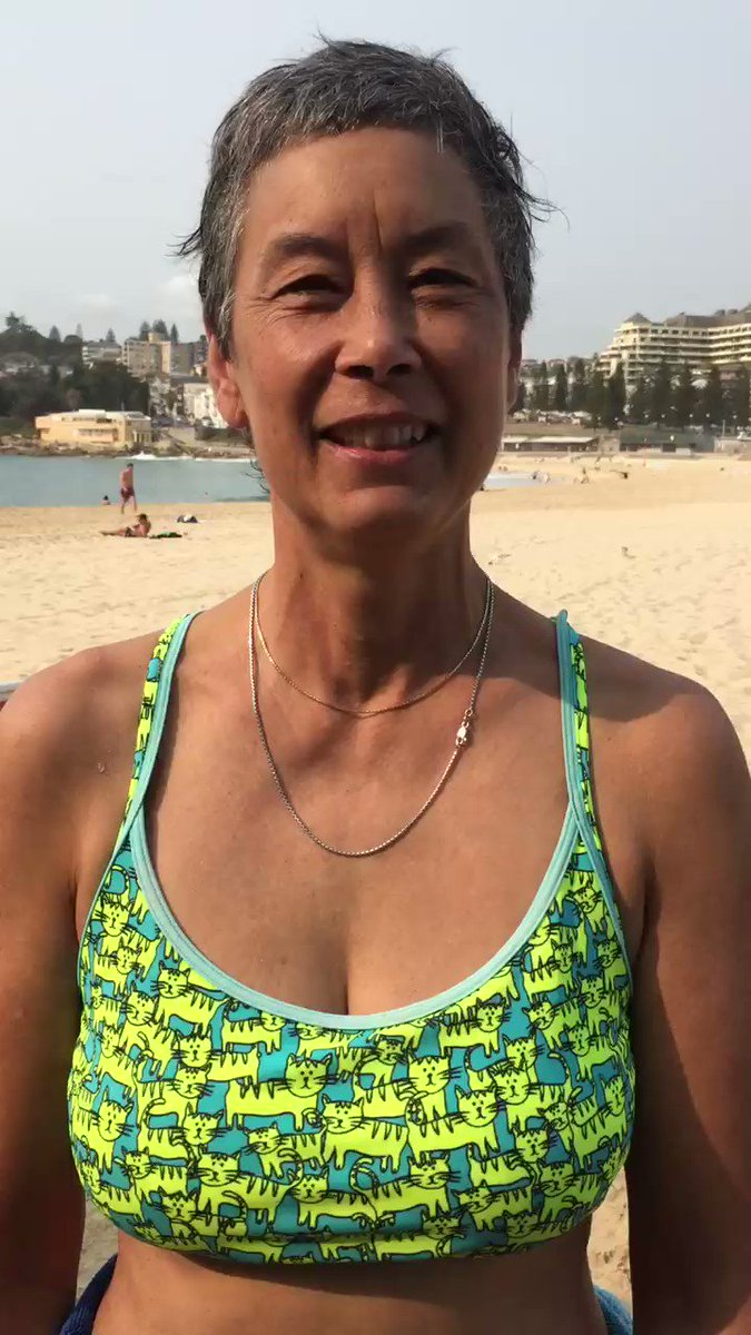 """Morning from #Coogee #beach Sherri #GameOver """"I believe that our gov is inhumane locking pple up simply 4seeking asylum which is a human right.I want 2see pple have the opp 2live in a country that will welcome them as human beings."""" @Craig_Foster @amnestyOzpic.twitter.com/M5JyYAjrAB"""