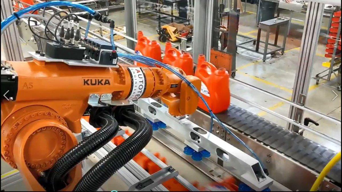 Image for the Tweet beginning: Autotec supplies both Robotic Pick