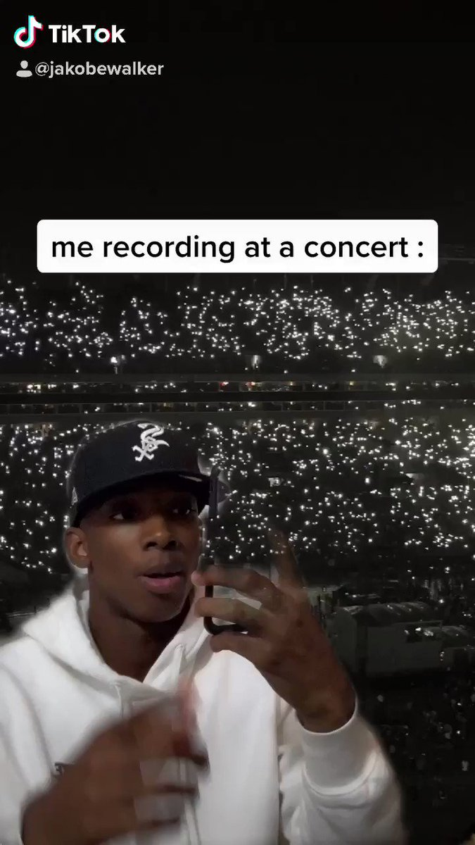 this the main reason i hate recording at concerts