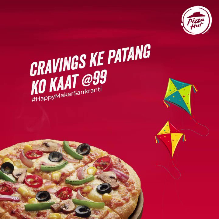 You heard it right Sirf 99 mein tastiest pizzas. Lapet nahi rahe hai.