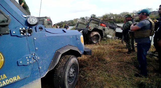 Tres elementos de la Guardia Nacional desaparecieron en Reynosa tras accidente http://bit.ly/2RerMtg