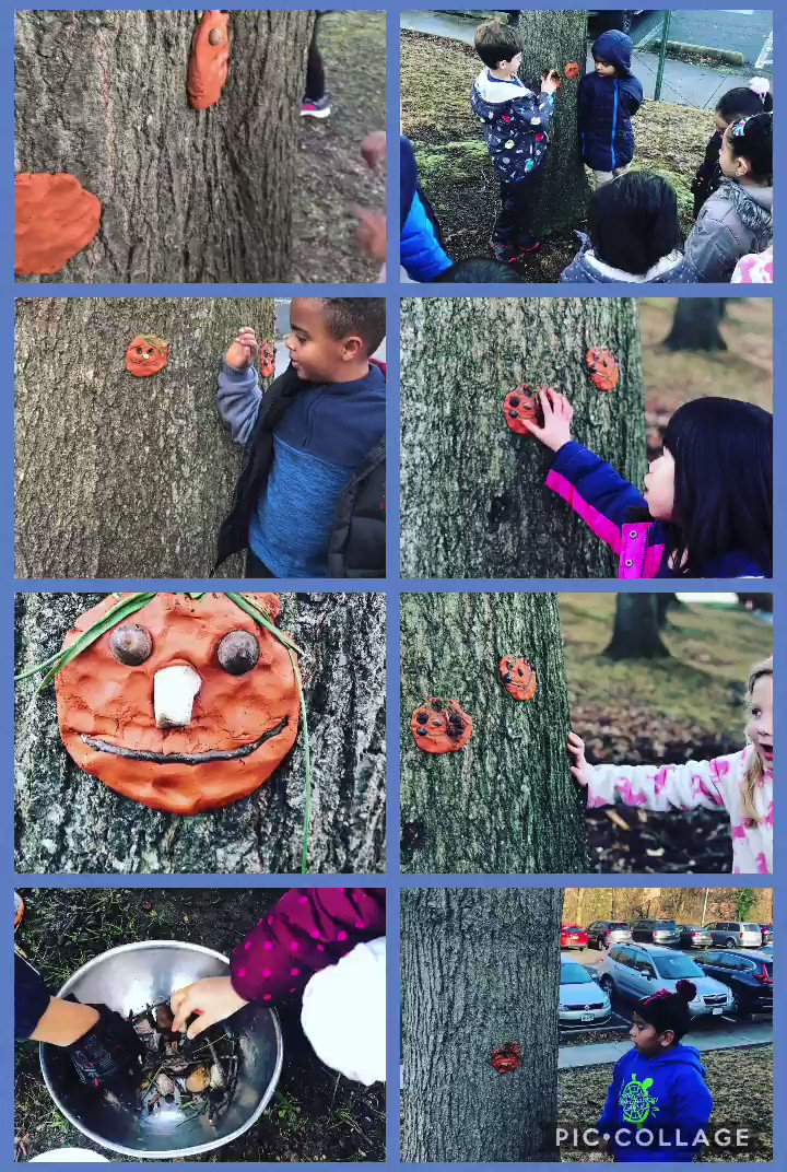 K Ss are writing about real experiences. Today we created an <a target='_blank' href='http://search.twitter.com/search?q=outdoorartgallery'><a target='_blank' href='https://twitter.com/hashtag/outdoorartgallery?src=hash'>#outdoorartgallery</a></a> 2 w/clay& natural materials. Each artist explained materials used. The language that they're using-wow! Can't wait to see the words that flow from this fun activity! <a target='_blank' href='http://twitter.com/CampbellAPS'>@CampbellAPS</a> <a target='_blank' href='https://t.co/n6dU9lHIV8'>https://t.co/n6dU9lHIV8</a>