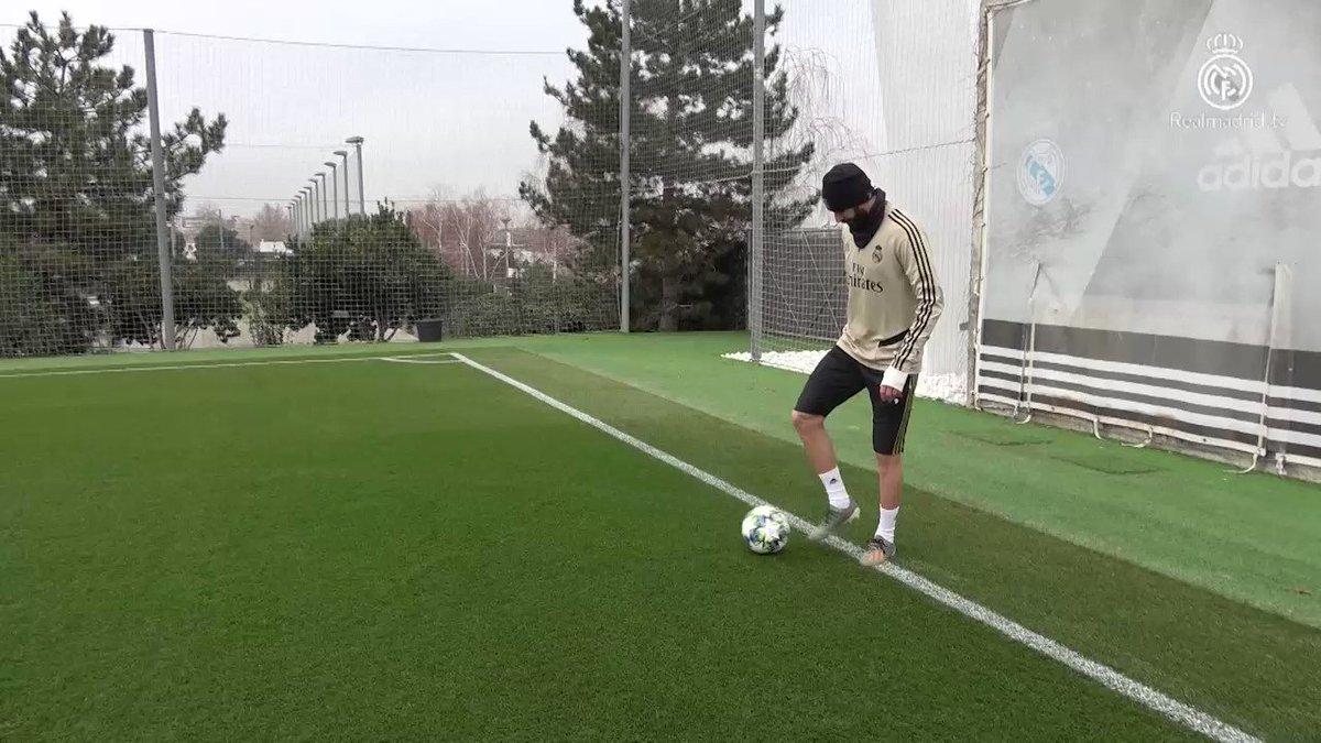 Soon ⚔🔥 #Training #HalaMadrid #Nueve