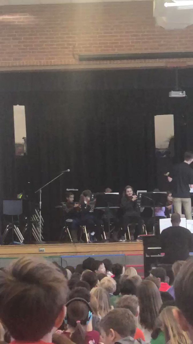 It is evident our orchestra students have worked hard preparing for the concert.  This is such a calming, peaceful song.  Great job musicians! <a target='_blank' href='https://t.co/S67MTEIo5g'>https://t.co/S67MTEIo5g</a>