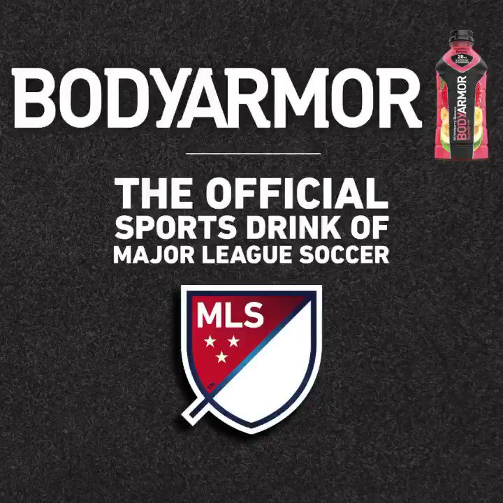 This season is going to be something else 👀 Proud to be the Official Sports Drink of Major League Soccer AND 19 @MLS Clubs! ⚽️⚽️⚽️