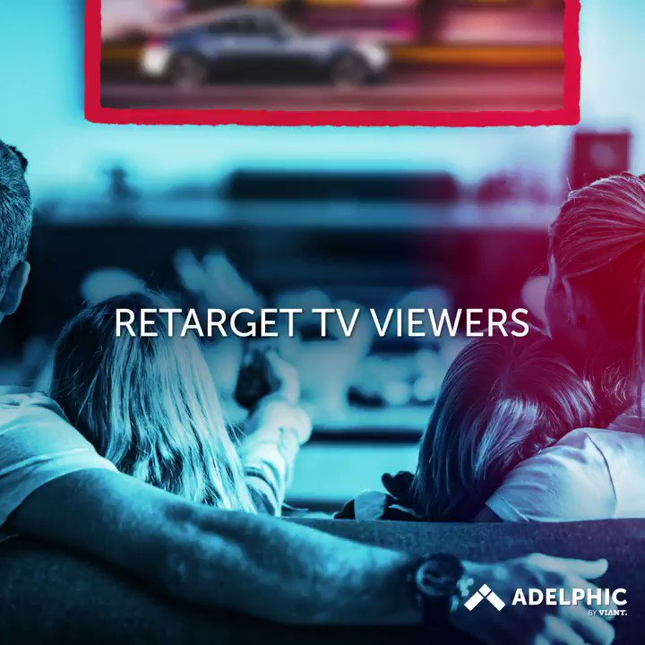 Image for the Tweet beginning: #Adelphic's real-time #TV #retargeting solution