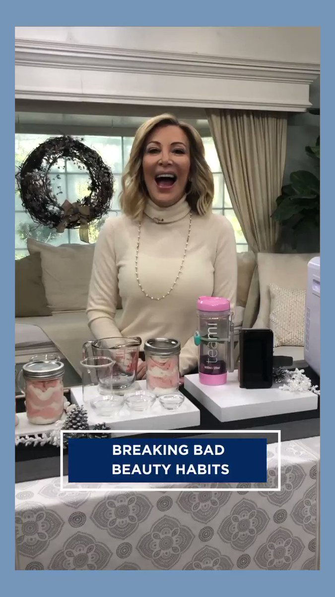 .@kymdouglas shares how you can break your bad #beauty habits! Find out how TOMORROW at 10am/9c on @hallmarkchannel.
