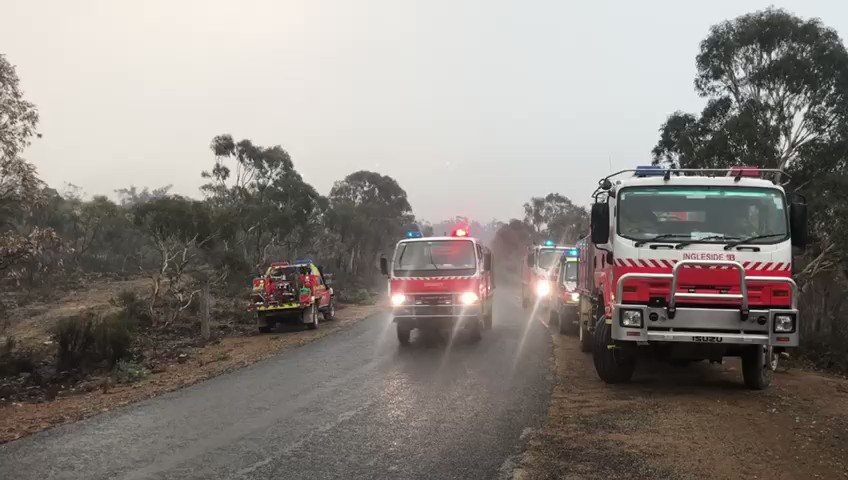 Australians Get Welcome Relief as Torrential Rain Helps Ease Bushfires