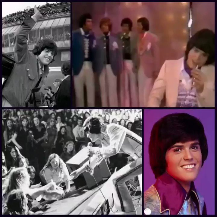 The teenage years dont have to be confusing and painful ☹🤔 they can be fun & exciting 🙃🙂 just as @donnyosmonds were.I was in the audience in this 1974 #ThrowbackThursday clip & loved every minute 🥰 can you hear me screaming lol #ThursdayThoughts #NationalGoodTeenDay