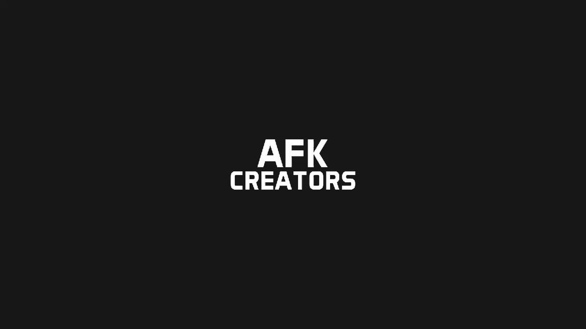 A year ago, AFK became more than just a concept, more than just a dream. Now, AFK is a reality and our mission is to help content creators all over the world.  For a safer, more fun and better entertainment industry.  Here's to one year, we hope you stick with us for many more ❤