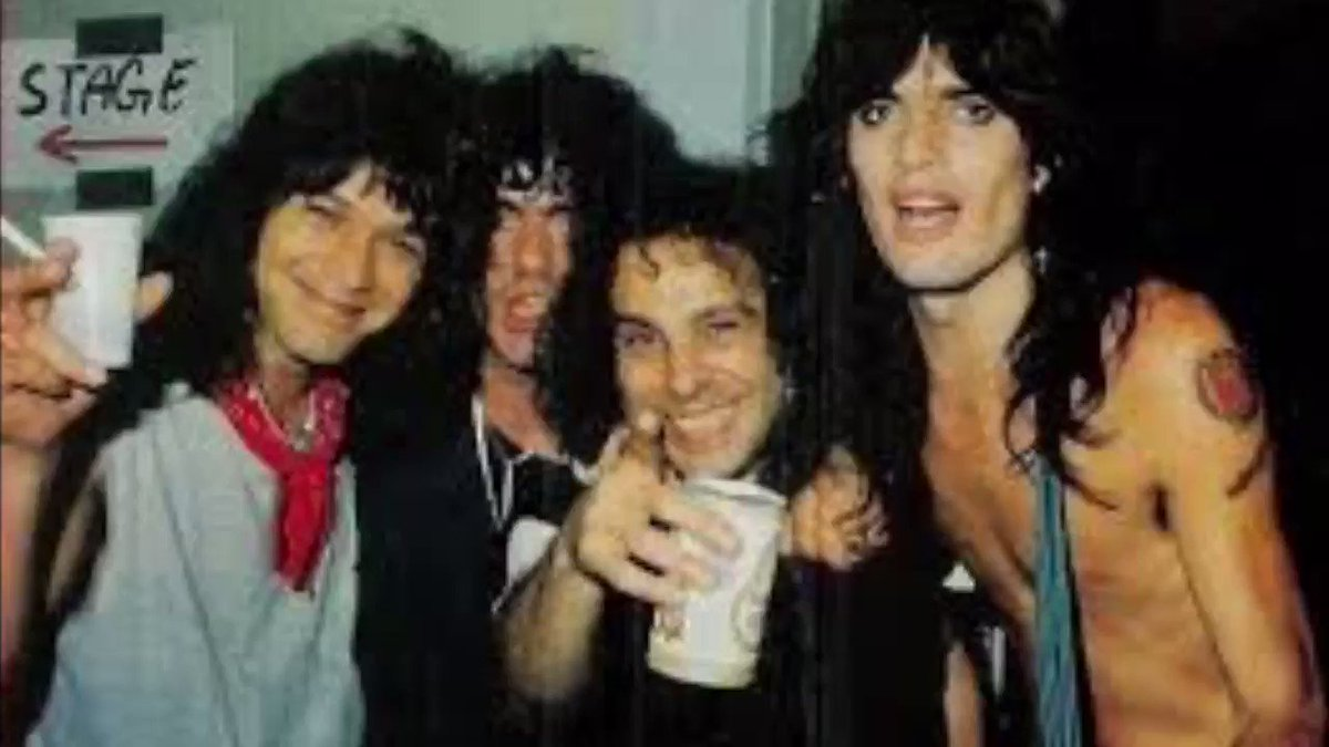 Here's a throwback to the club days for The Mighty Van Halen. And how 'bout that backstage party pic...Eddie, Ronnie, Tommy and the late Jimmy Bain. As RJD would say, Long Live Rock and Roll!!!🔥🔥🔥 #vanhalenarmy #thursdaymorning #thursdayvibes #ThrowbackThursday #EddieVanHalen