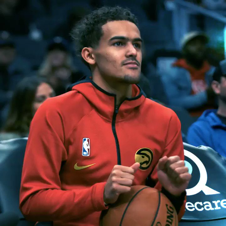 .@TheTraeYoung is a CHEAT CODE 🕹  Get this man to the @NBAAllStarGame. Your vote counts 2x until midnight!  🌟: http://bit.ly/35D9wij