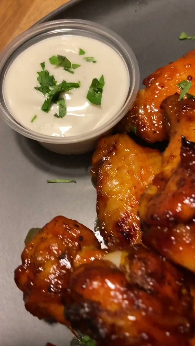 honey barbecue wings 😤🔥🍗🍯