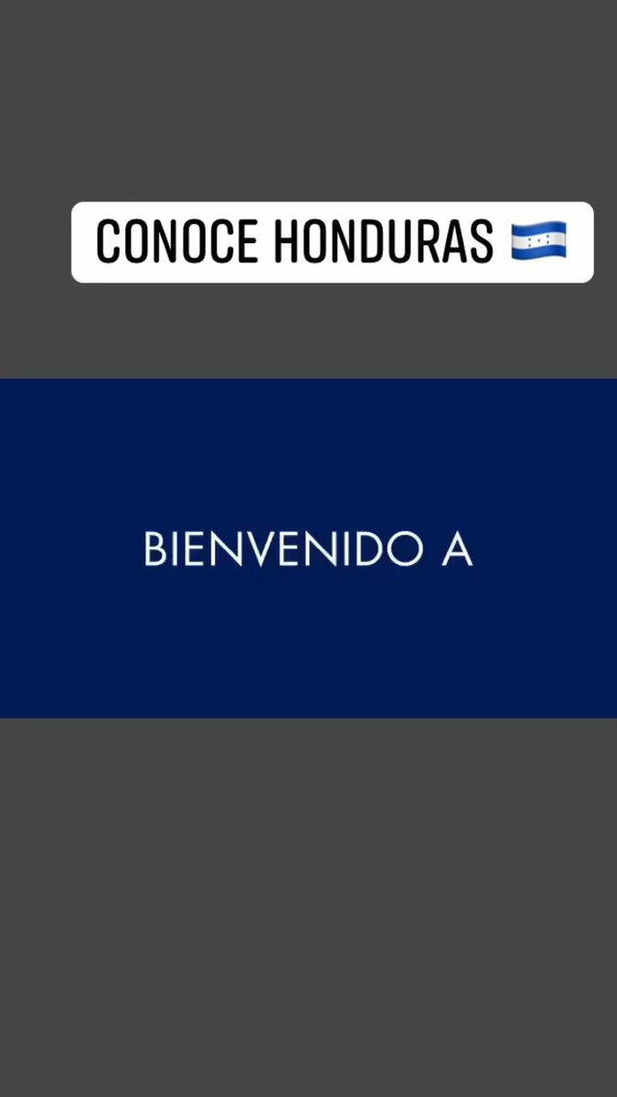 Un hermoso lugar para conocer. #HondurasEsMagia #ConoceHonduras #SomosHonduras 🇭🇳