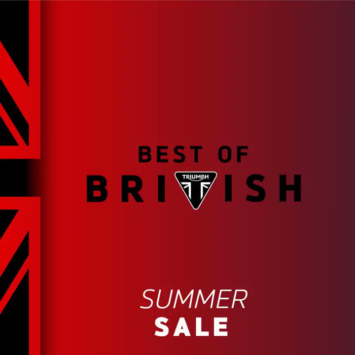Best of British Summer Sale! Save up to $2,000 on our Modern Classic range! .  . #triumph #modernclassics #bestofbritish #summersale #trumpy #caferacer #bikelife #motorcycle #dgr #ratride