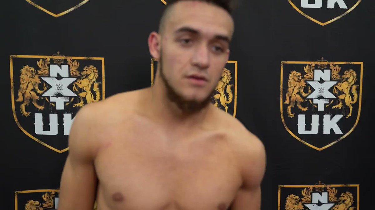 """""""Os voy a demostrar a todo el Universo de @WWE_es que no sólo voy a ser la mayor estrella de NXT UK, si no de todo WWE"""" ¿Lo conseguirá @AKidWrestler? 🙌"""