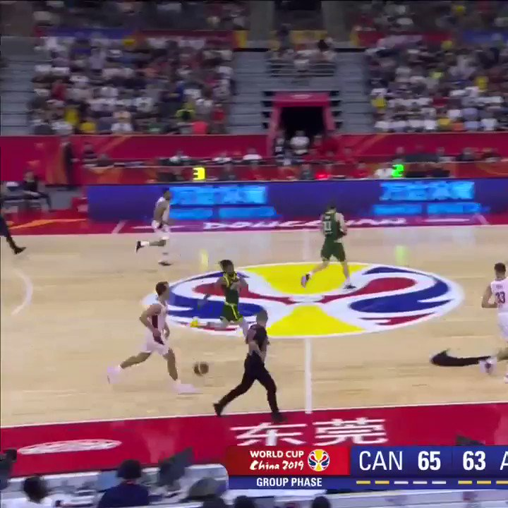 👀👏 @Khem_Birch with the INHUMANE DUNK! What you up to this summer? Asking for a friend (the friend is the @Olympics!)   #YouPickWeRoll #FIBAWC