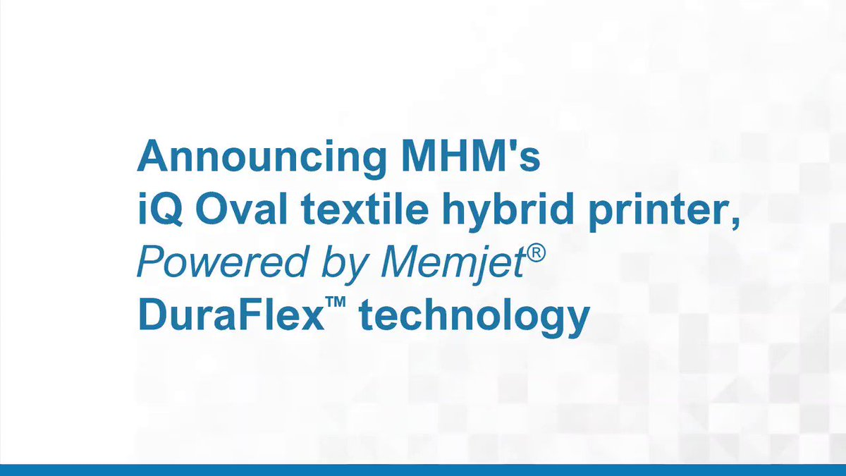 Image for the Tweet beginning: Textile printing just got more