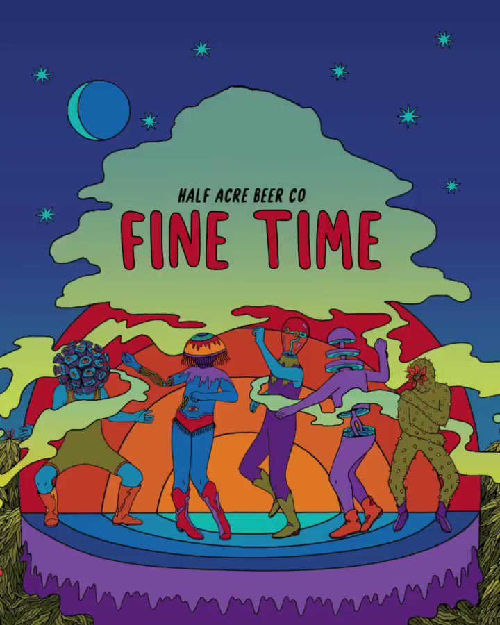Image for the Tweet beginning: Today. Fine Time DDH DIPA.