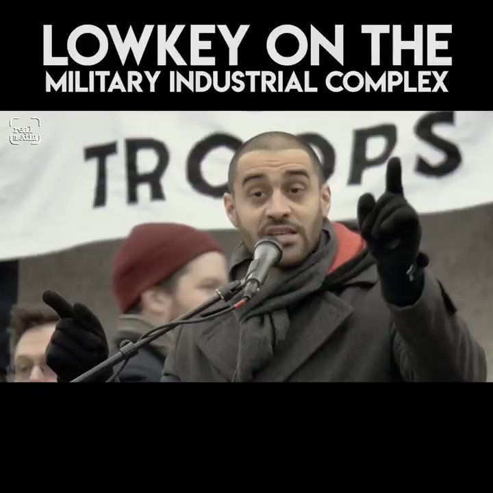 Lowkey on the military industrial complex