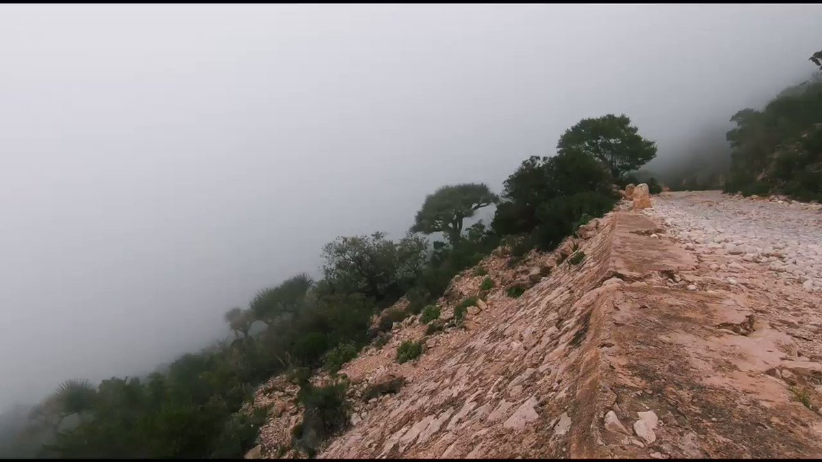 Tabca, At 8000 ft above sea level the highest road in #Somaliland. Beautiful, enchanting and scary😂. If u r an adrenaline junkie or a daredevil come ride ur bike here and I guarantee , u will go back home traumatized.
