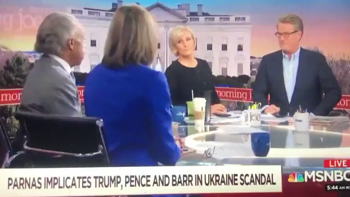 Talking Lev Parnas, Donald Trump, and underlining how Rudy Giuliani is the major key to Trump's impeachment. Visit MSNBC.com for video clips of #MorningJoe, Joe and Mika thanks for having me.
