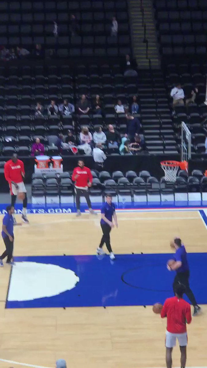 WATCH: Tacko Fall practicing a 3-point shot