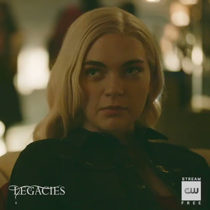 When you're not invited to the crossover. Stream #Legacies free: go.cwtv.com/streamLGCtw