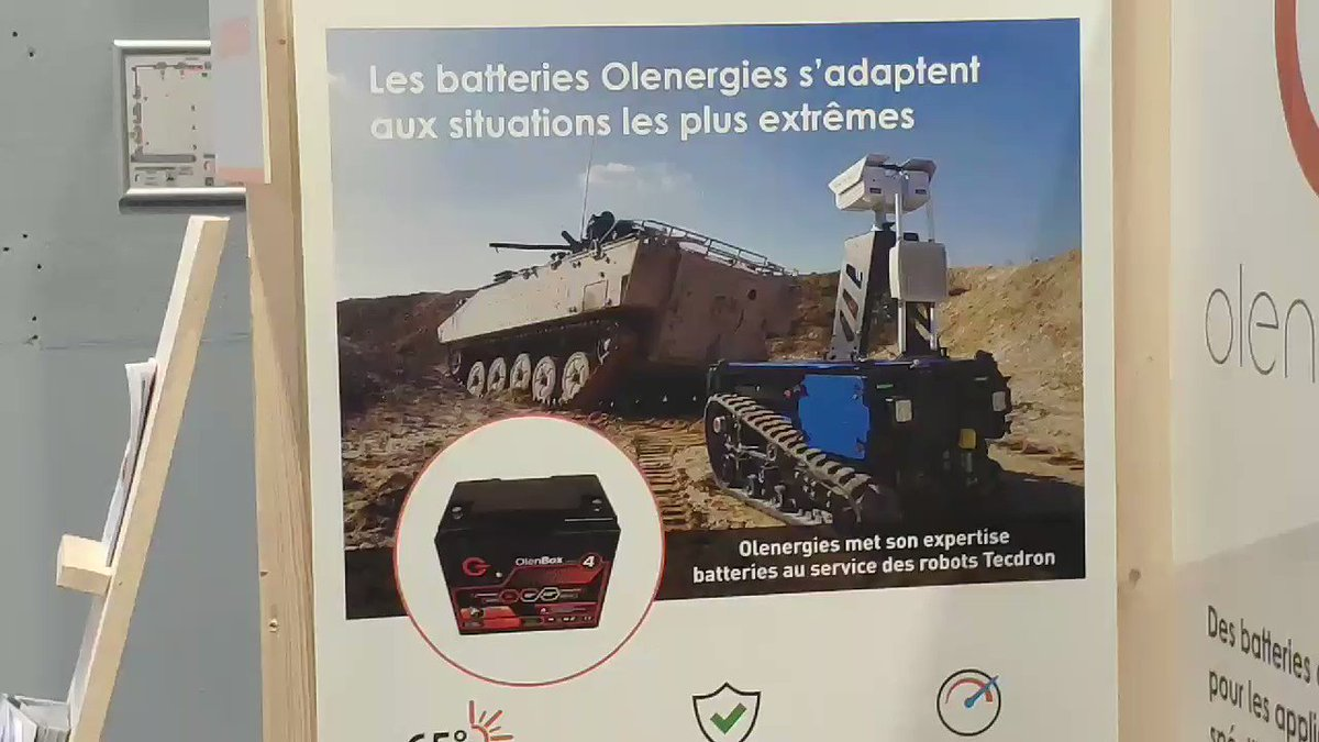 Image for the Tweet beginning: 2ème jour pour @olenergies à